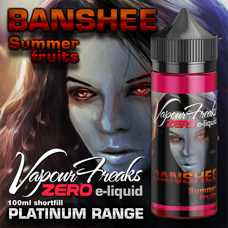 Banshee 100ml - Summer fruits