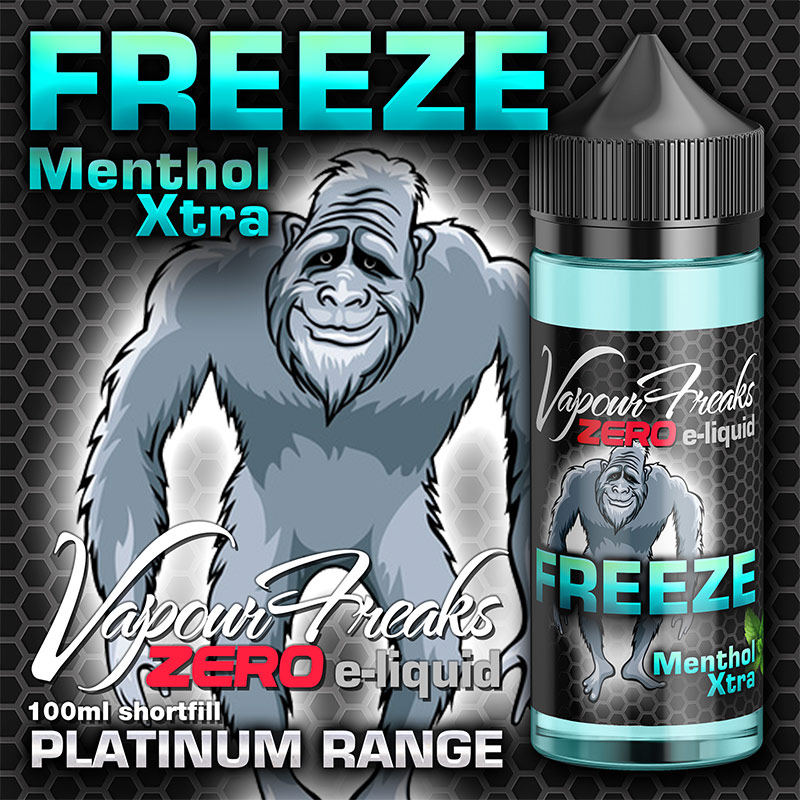 Freeze 100ml - Vapour Freaks e-liquids UK