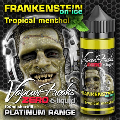 Frankenstein on Ice - Vapour Freaks Zero - 100ml - tropical fruits menthol