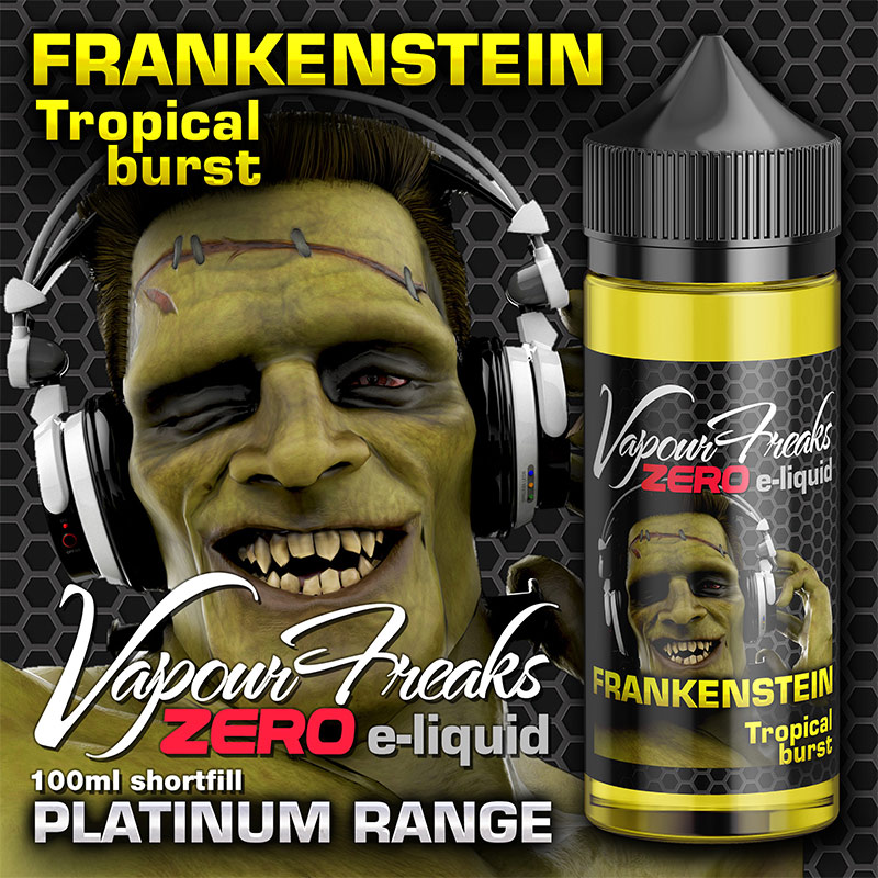 Frankenstein - Vapour Freaks Zero - 100ml - tropical fruits