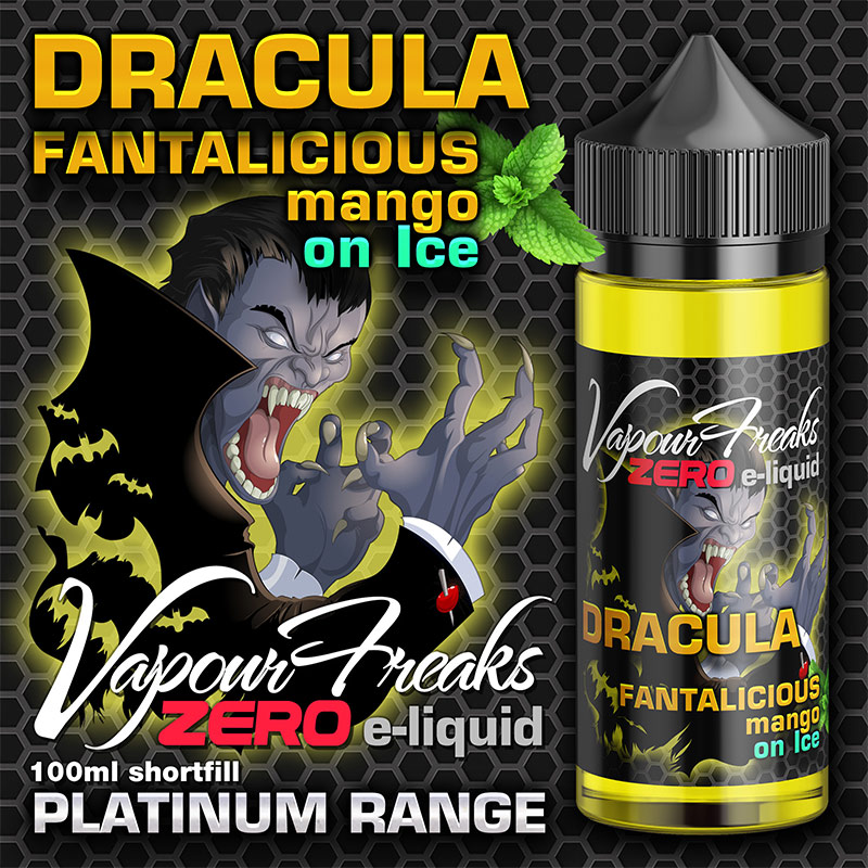 Dracula - Vapour Freaks Zero - 100ml - mango menthol