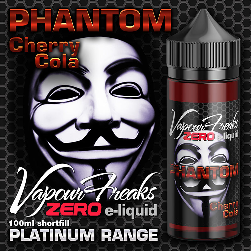 Phantom - Vapour Freaks Zero - 100ml - cherry cola