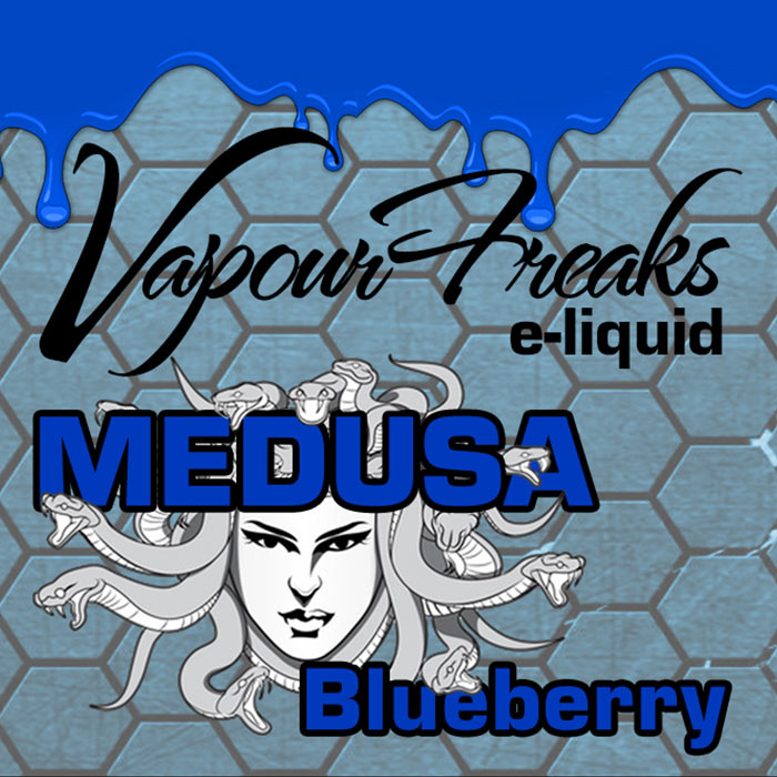Medusa - Vapour Freaks 40ml - blueberry