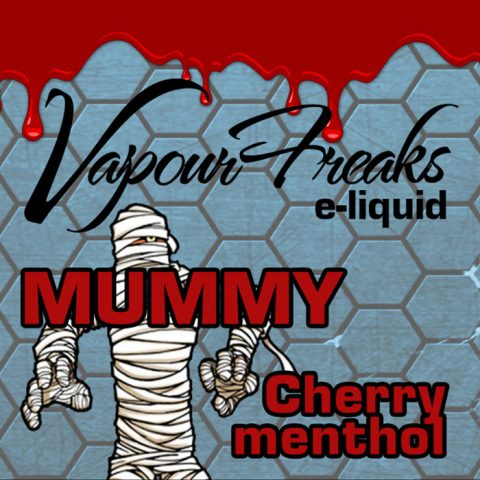 Mummy - Vapour Freaks 40ml - cherry menthol