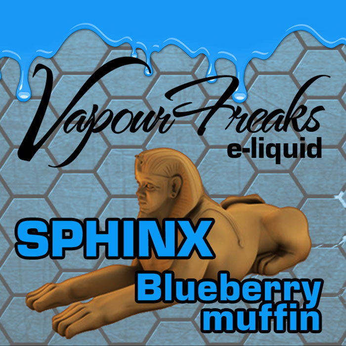 Sphinx - Vapour Freaks 40ml - blueberry muffin
