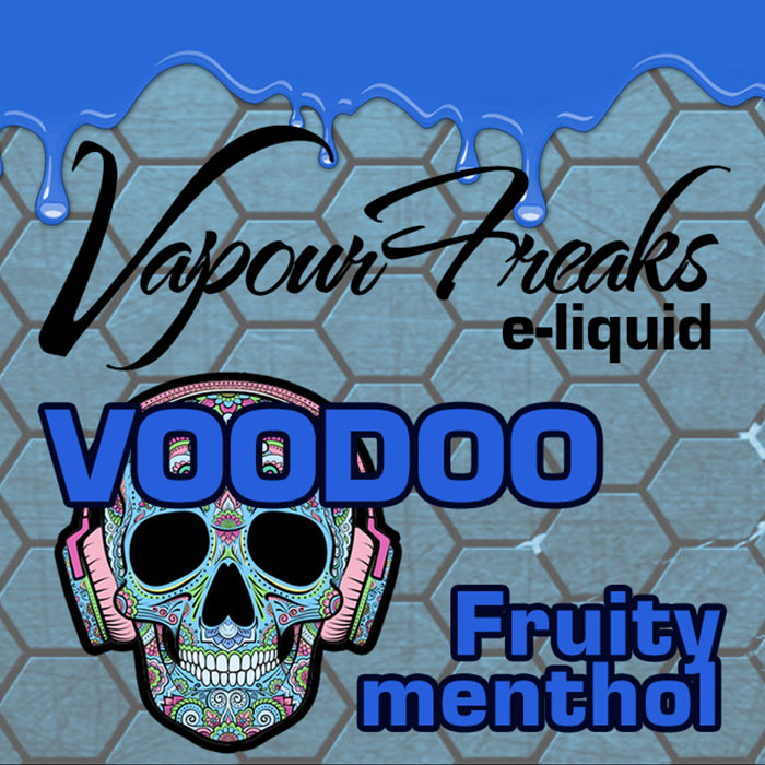 VooDoo - Vapour Freaks 40ml - fruity menthol
