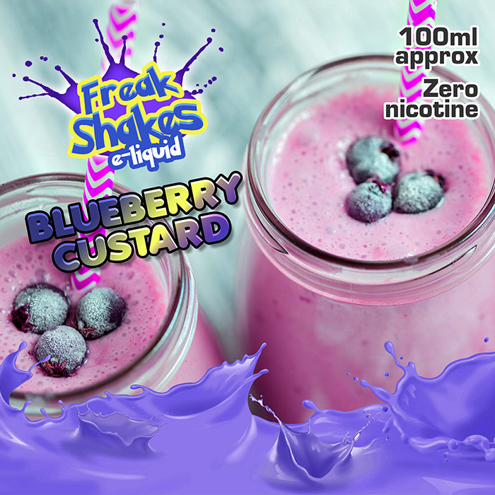 Blueberry Custard - Freak Shakes - 100ml