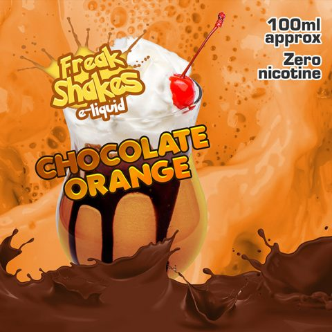 Chocolate Orange - Freak Shakes - 100ml