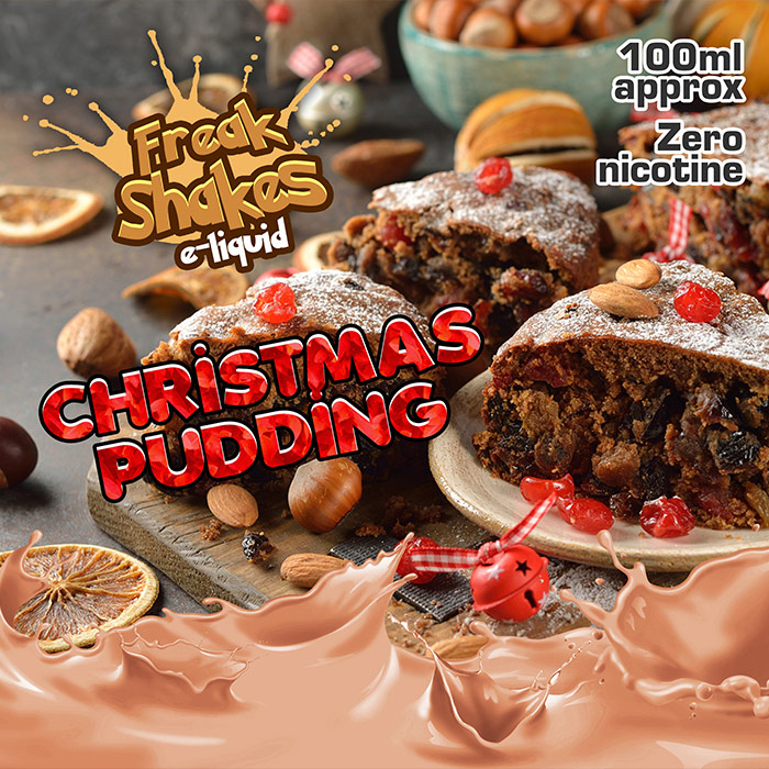 Christmas Pudding - Freak Shakes - 100ml