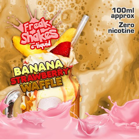 Banana Strawberry Waffle - Freak Shakes - 100ml