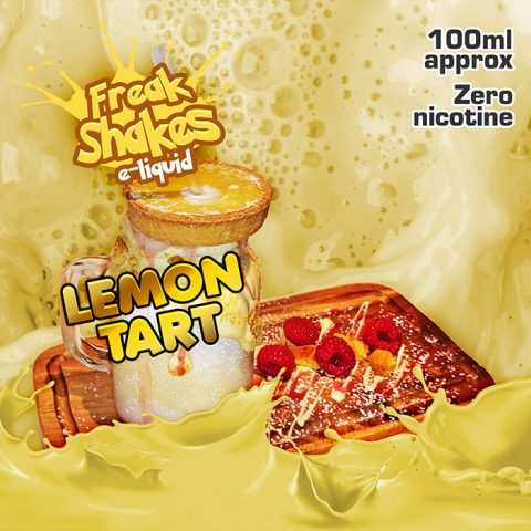 Lemon Tart - Freak Shakes - 100ml