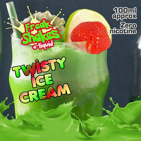 Twisty Ice Cream - Freak Shakes - 100ml