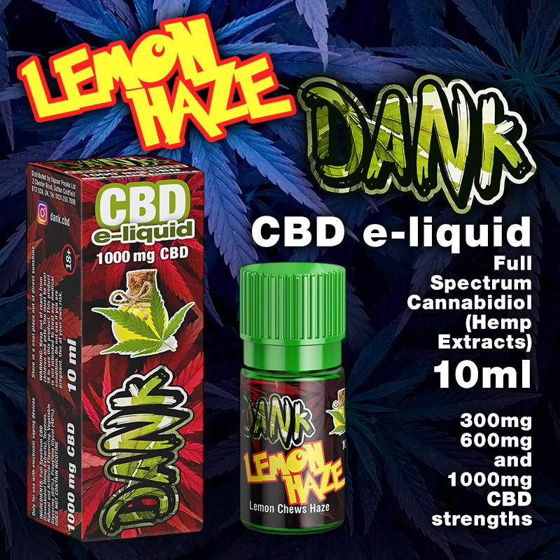 Lemon Haze - DANK CBD e-liquid