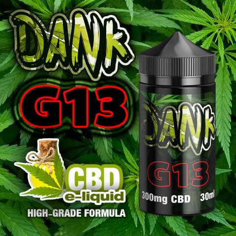 G13 - DANK CBD e-liquid