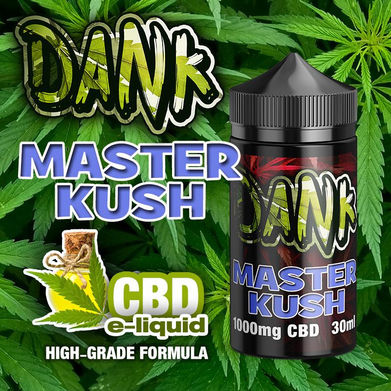 Master Kush - DANK CBD e-liquid