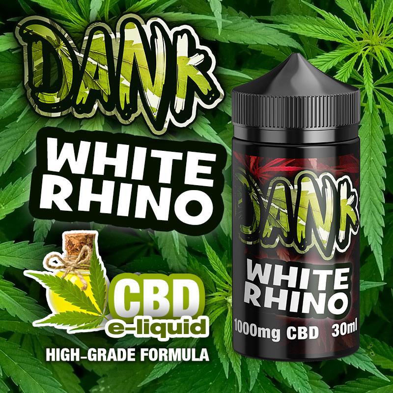 White Rhino - DANK CBD e-liquid