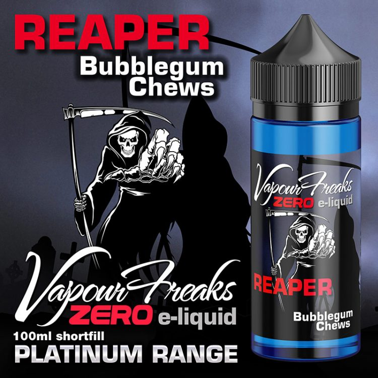 Reaper - Vapour Freaks Zero - 100ml - bubblegum chews