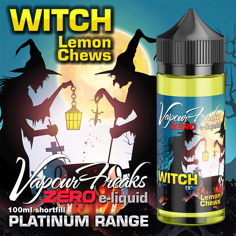 Witch - Vapour Freaks Zero - 100ml - lemon chews