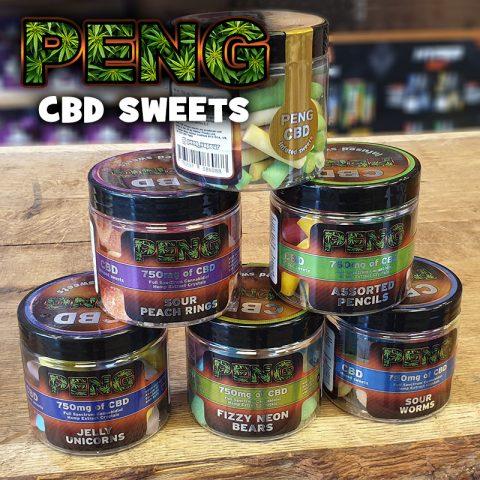 NEW - PENG CBD sweets