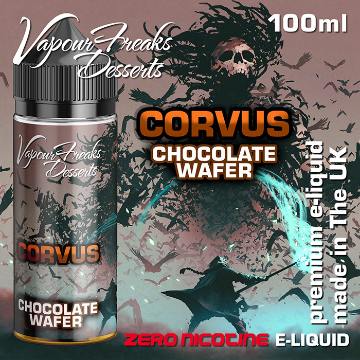 Corvus - Vapour Freaks Desserts - chocolate wafer