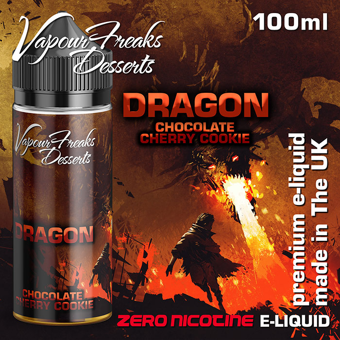 Dragon - Vapour Freaks Desserts - chocolate cherry cookie