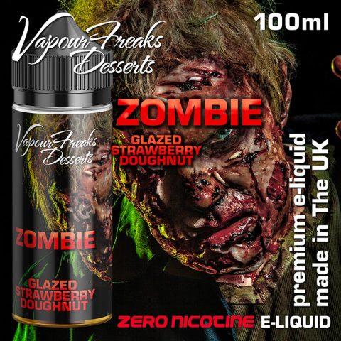 zombie 100ml Vapour Freaks Desserts e-liquids