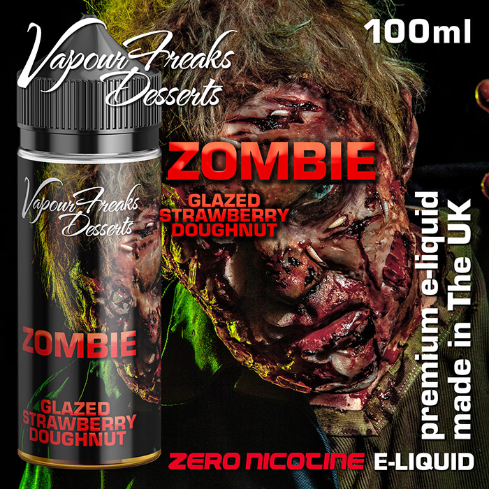 Zombie - Vapour Freaks Desserts - glazed strawberry doughnuts