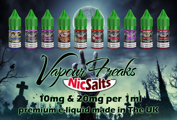 NEW - Vapour Freaks NicSalts