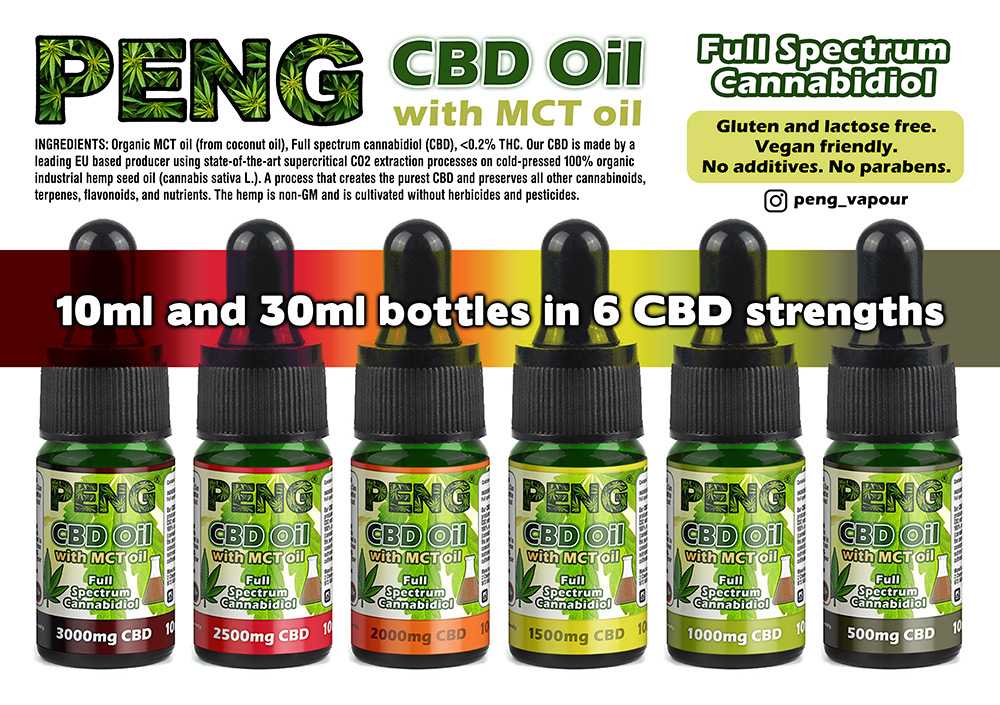 PENG CBD Oil with MCT Oil
