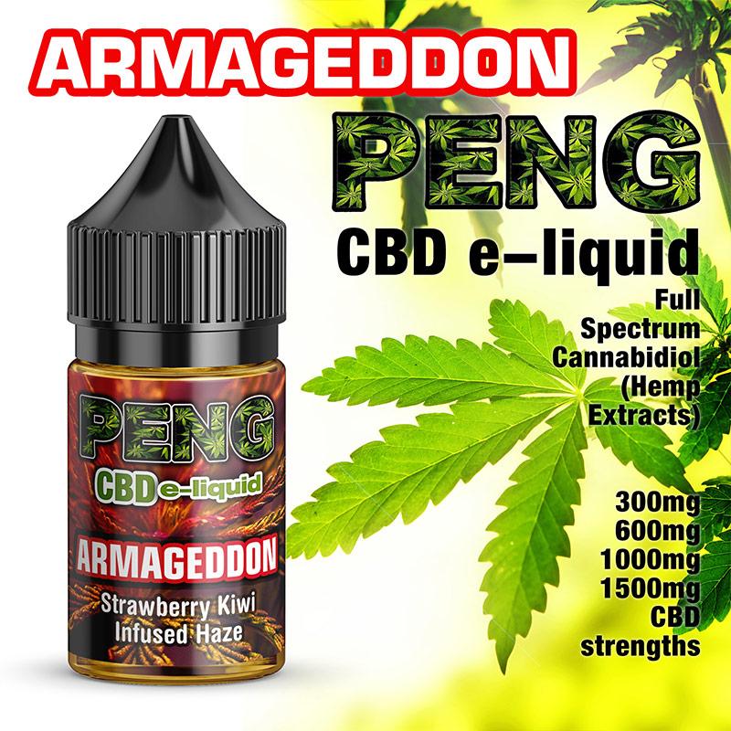 Armageddon - PENG CBD e-liquid