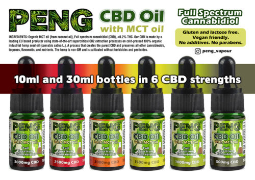 Peng CBD oil 10ml
