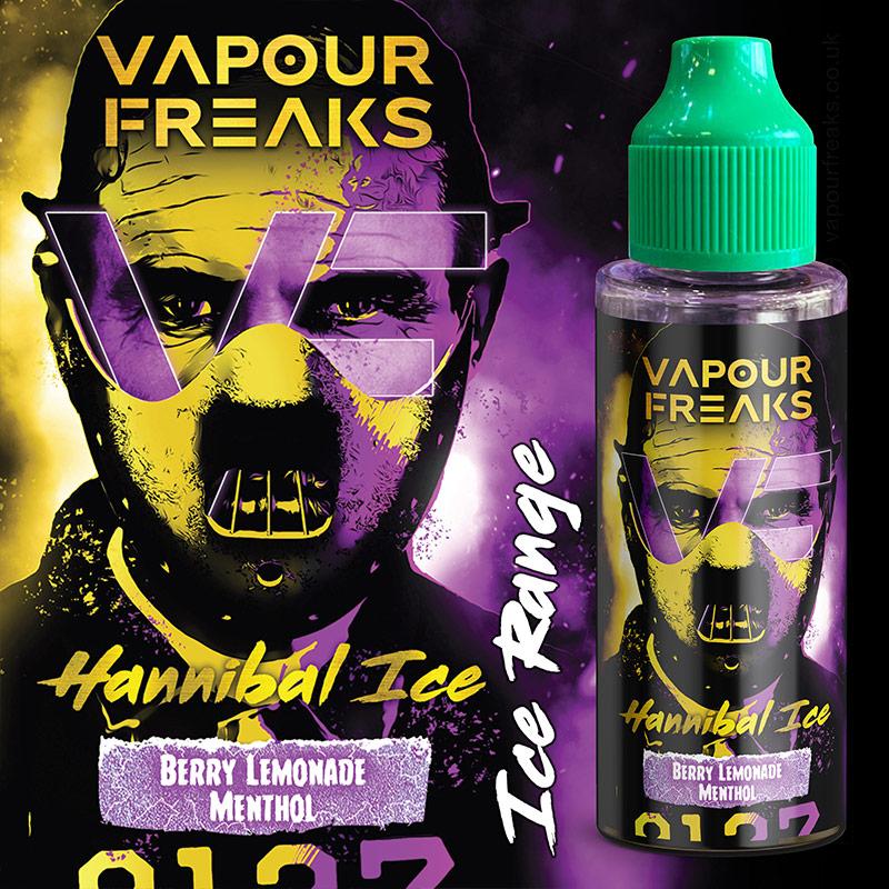 HANNIBAL ON ICE - Vapour Freaks ZERO e-liquid