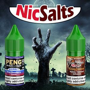 NicSalt e-liquids