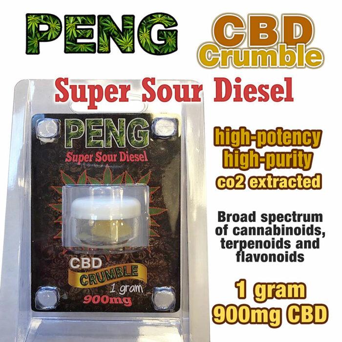 PENG CBD Crumble - Super Sour Diesel