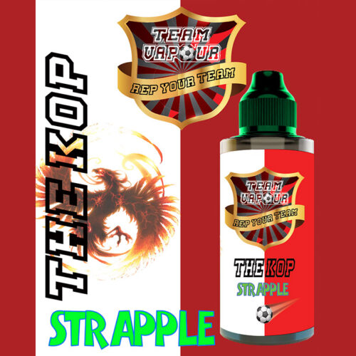 The Kop Strapple - Team Vapour e-liquid - 70% VG - 100ml