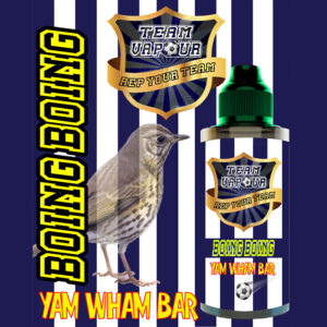 Boing Boing Yam Wham Bar - Team Vapour e-liquid - 70% VG - 100ml