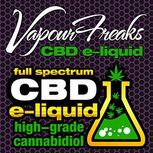 Vapour Freaks CBD e-liquid