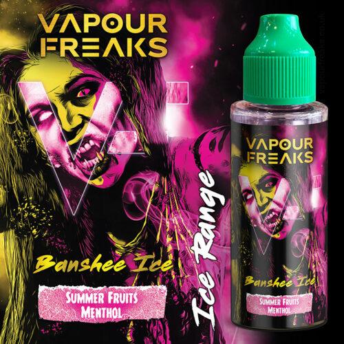 BANSHEE ON ICE - Vapour Freaks ZERO e-liquid