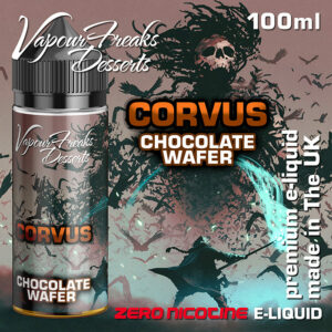 CORVUS - Vapour Freaks Desserts e-liquid - 70% VG - 100ml