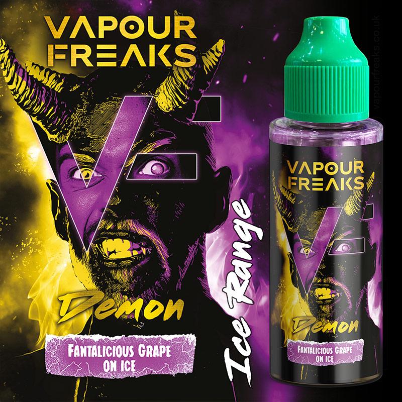 DEMON - Vapour Freaks ZERO e-liquid