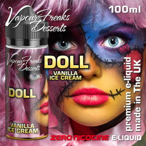 DOLL - Vapour Freaks Desserts e-liquid - 70% VG - 100ml
