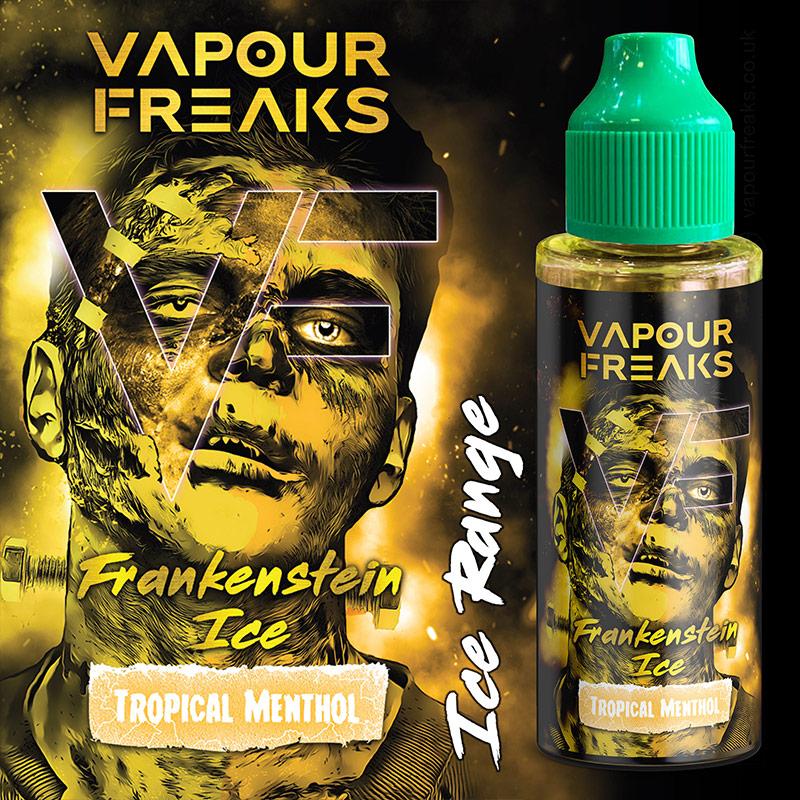 FRANKENSTEIN ON ICE - Vapour Freaks ZERO e-liquid