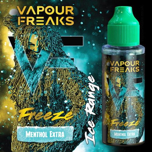 FREEZE - Vapour Freaks ZERO e-liquid
