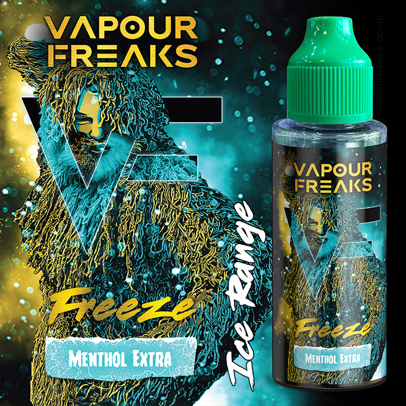 Freeze 100ml - Vapour Freaks e-liquids UK