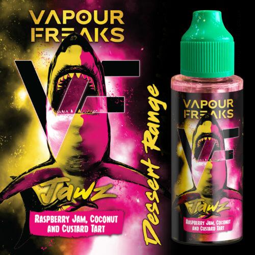 JAWZ - Vapour Freaks Desserts e-liquid