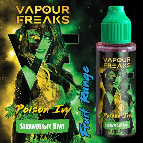 POISON IVY - Vapour Freaks ZERO e-liquid