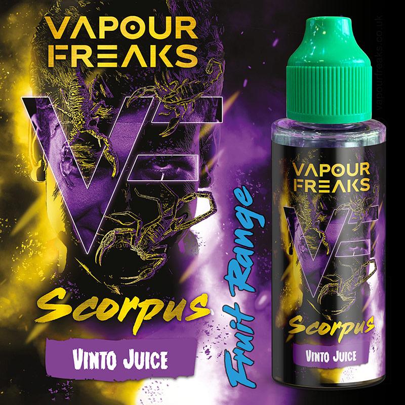 100ml Vapour Freaks e-liquids