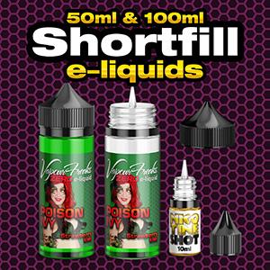 Shortfill e-liquids