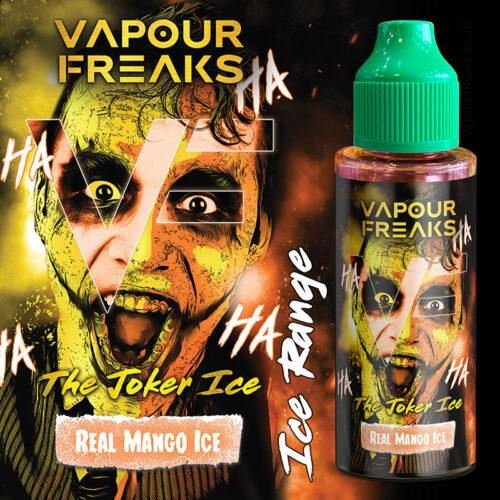 THE JOKER ICE - Vapour Freaks e-liquid