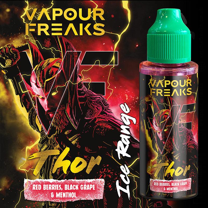 100ml Vapour Freaks e-liquids wholesale